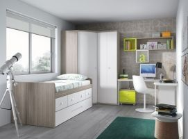 Dormitorio Juvenil Confortable
